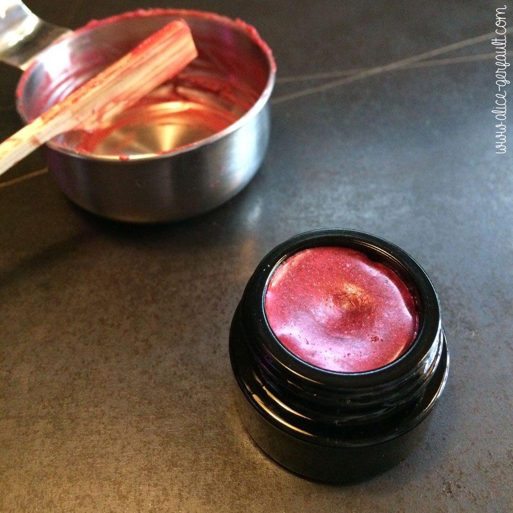 Gloss à lèvres rose, DIY par Alice Gerfault