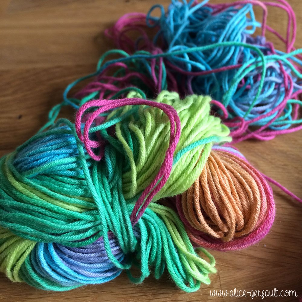 Pelotes de fil 100% coton Candy Katia, Alice Gerfault