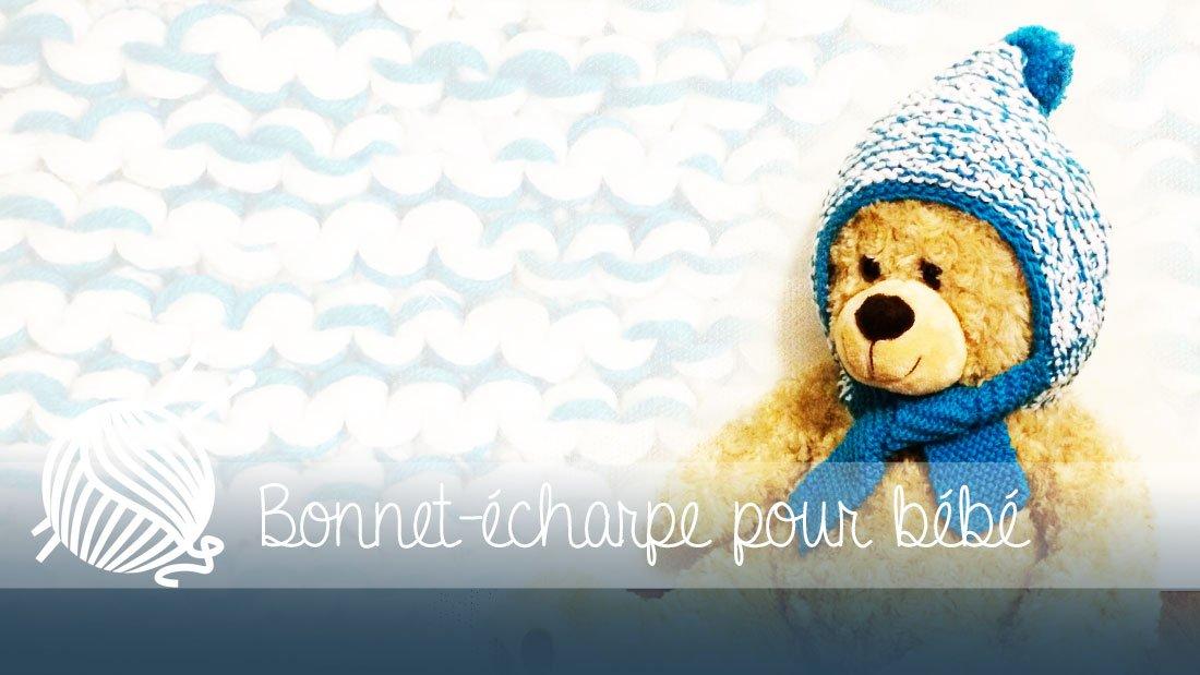 Bonnet,écharpe pour bébé