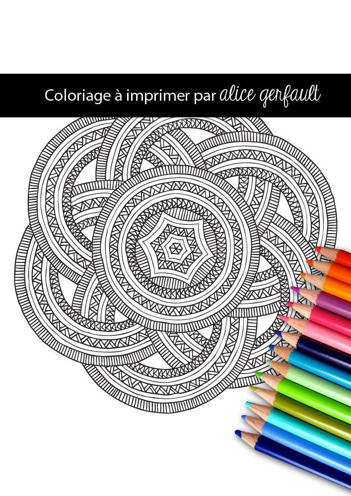 Mandala anneaux azt ques coloriage pour adulte - Coloriage d adulte a imprimer ...