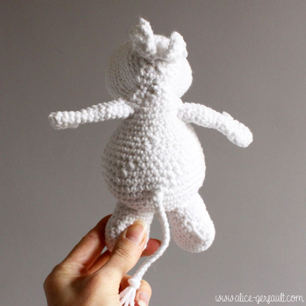 Moomin Amigurumi,crochet par Alice Gerfault