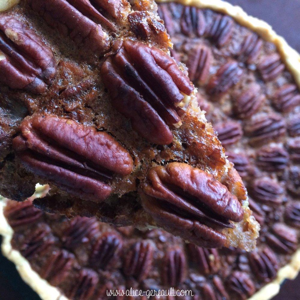 Tarte aux noix de pécan, Recette par Alice Gerfault
