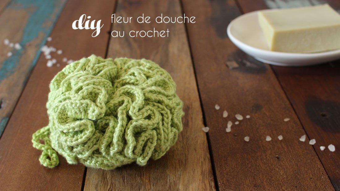 Fleur De Douche Au Crochet Diy Par Alice Gerfault