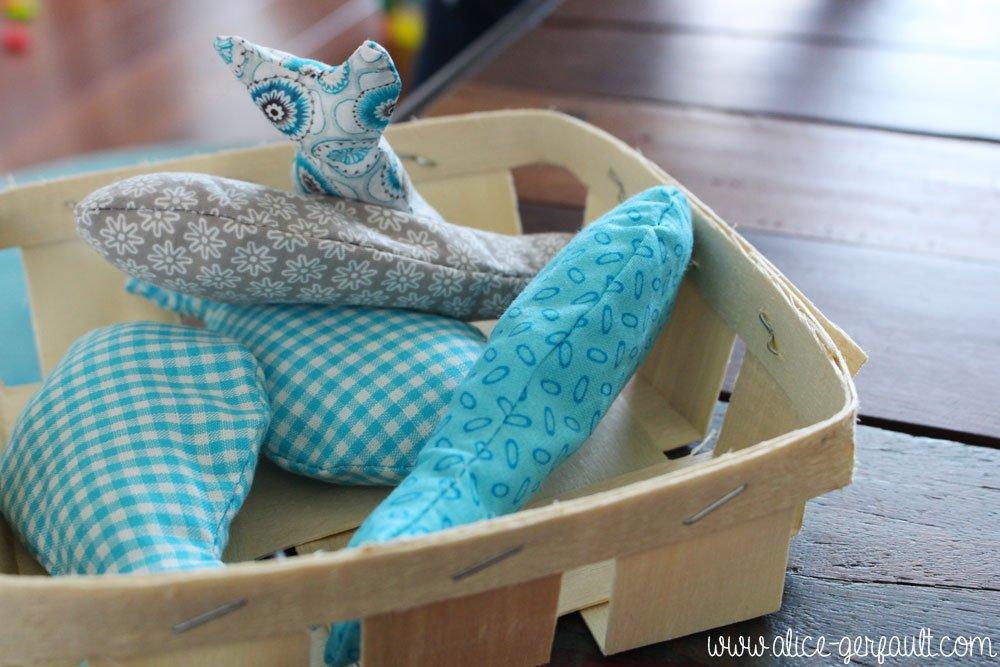 Jeu de pêche à la ligne pour jeune enfant, DIY par Alice Gerfault