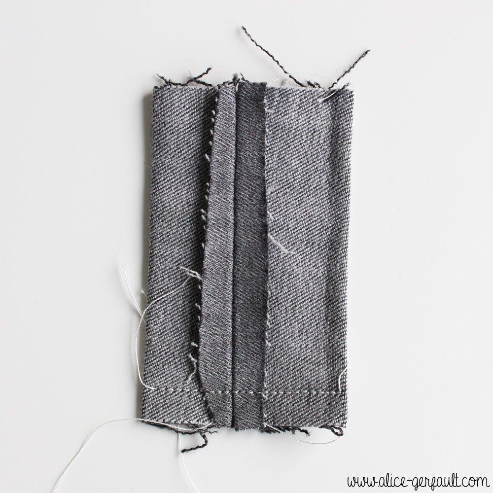 Pochette pour capuchon d'appareil photo reflex, DIY par Alice Gerfault