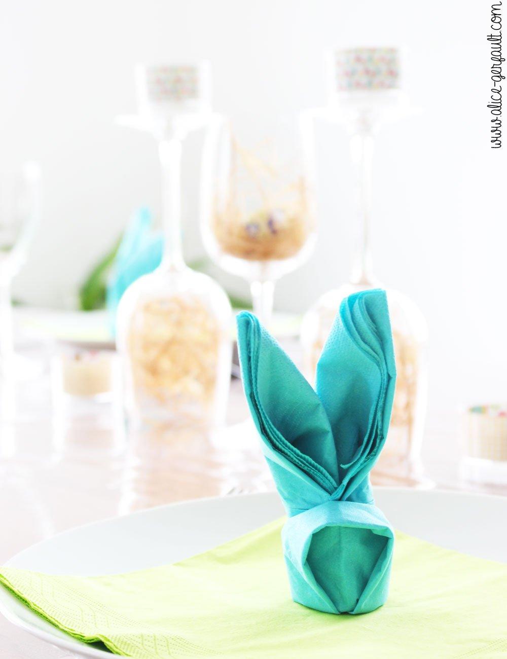 Déco de table et gourmandises de Pâques, DIY par Alice Gerfault