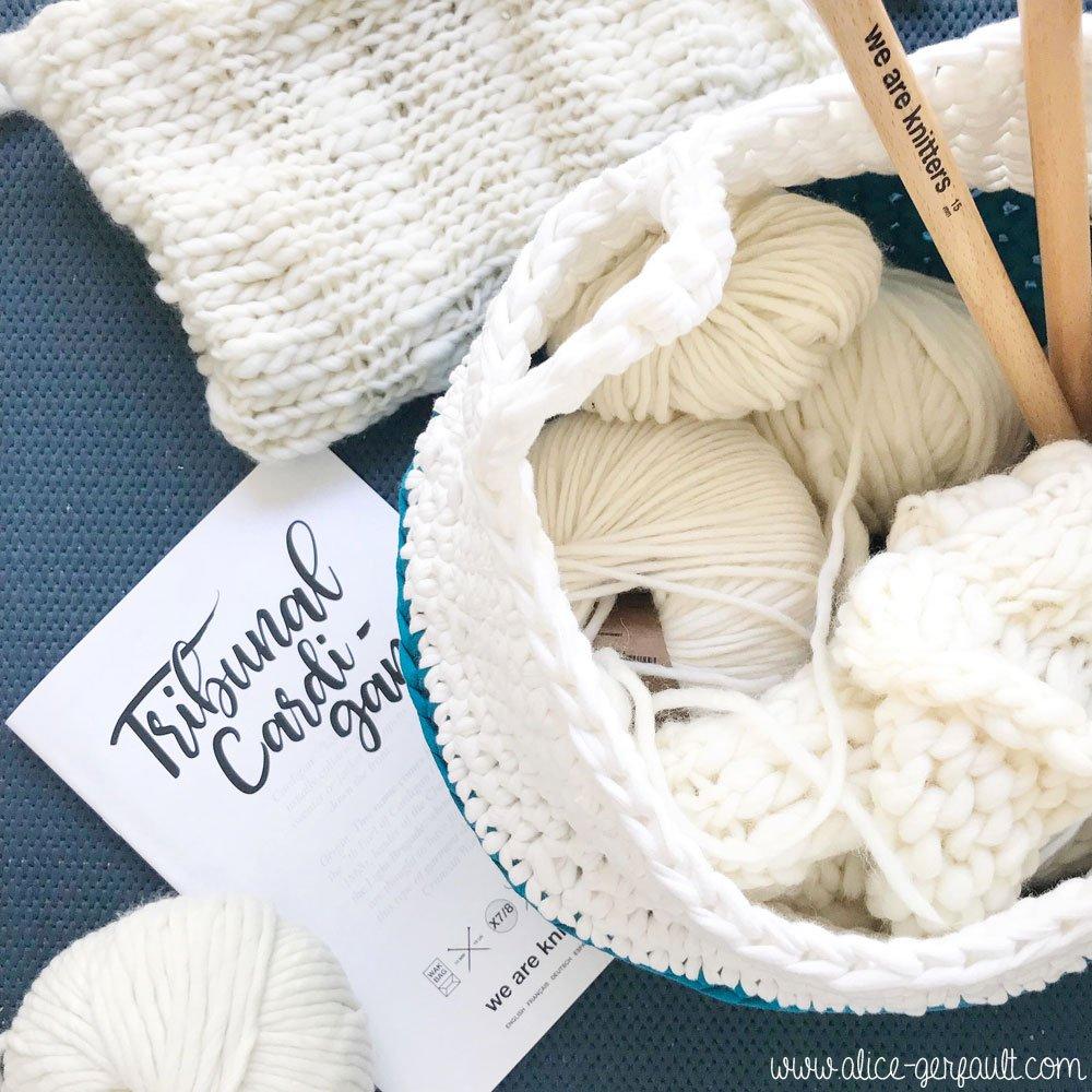 Panier thaïlandais au crochet, DIY par Alice Gerfault