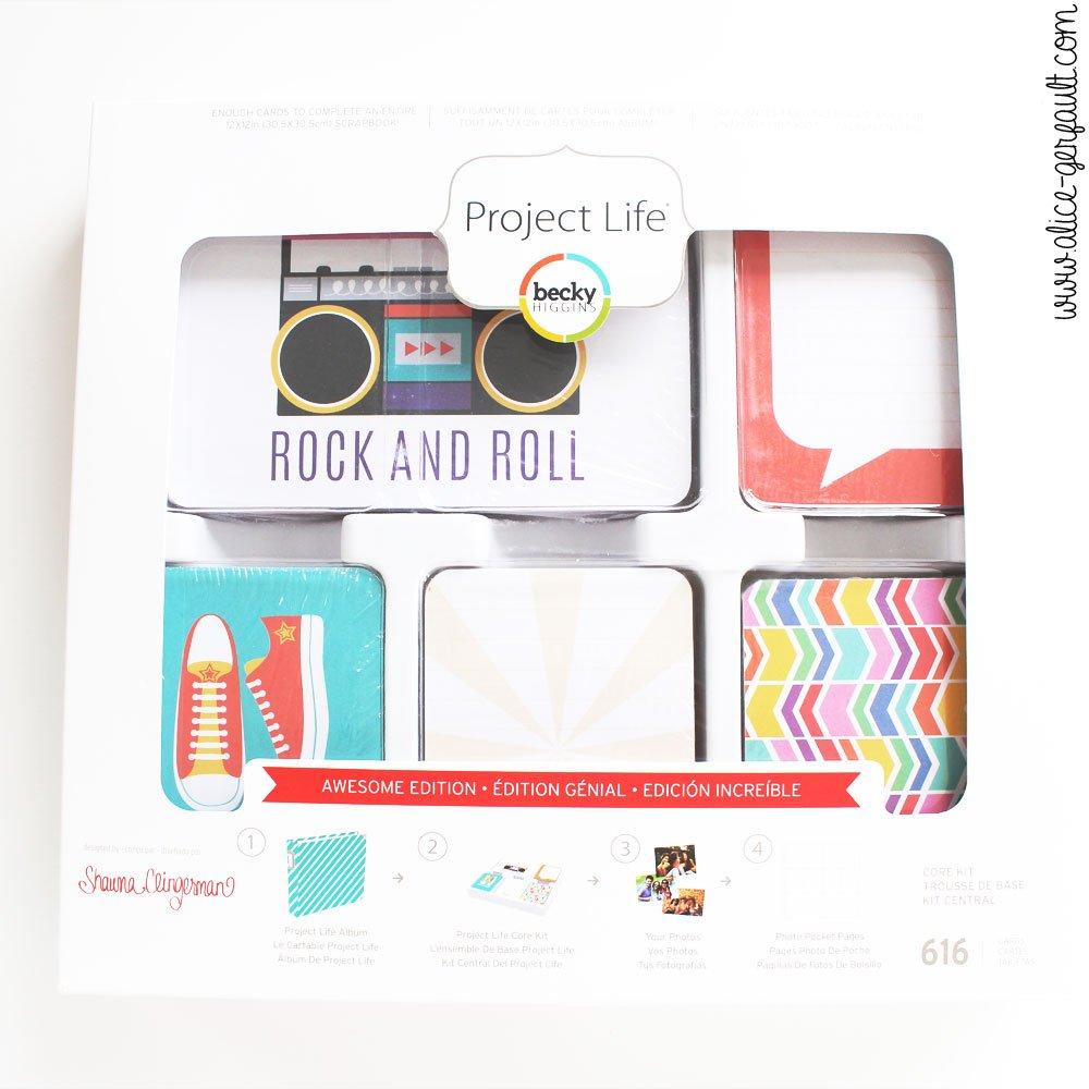 Je débute Project Life, DIY par Alice Gerfault