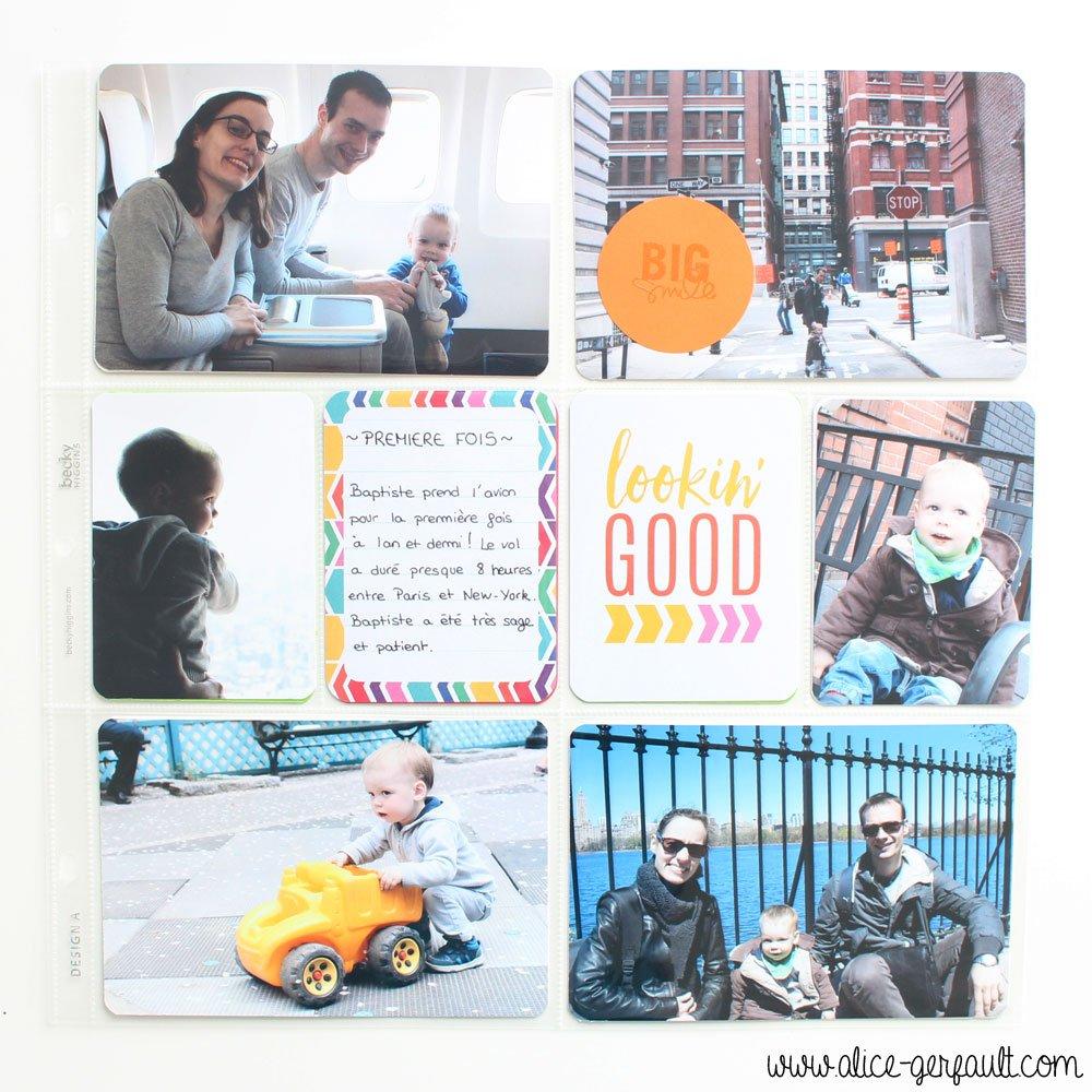 Project Life Avril 2017 New-York, DIY par Alice Gerfault