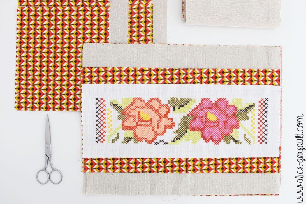 DIY Sac cabas brodé, Couture par Alice Gerfault
