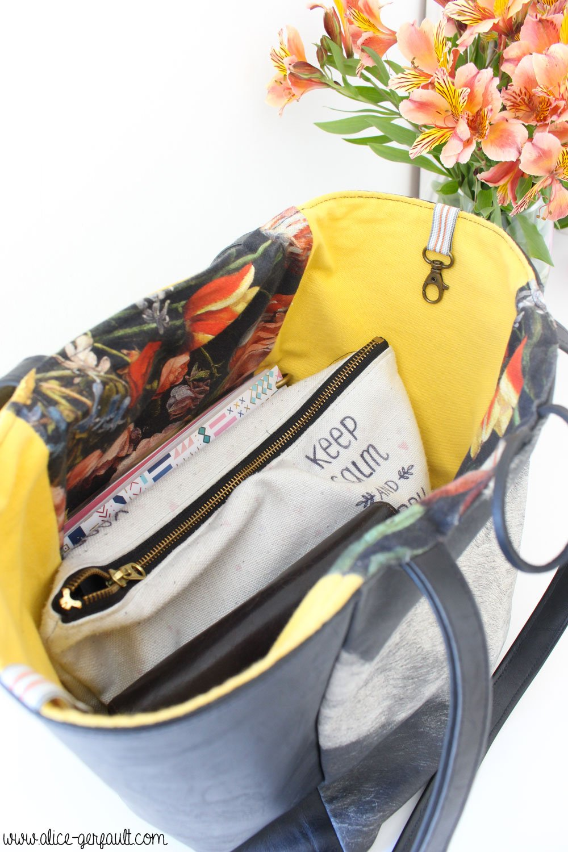 J'ai testé le kit sac Murano par sacs Malice, Couture par Alice Gerfault