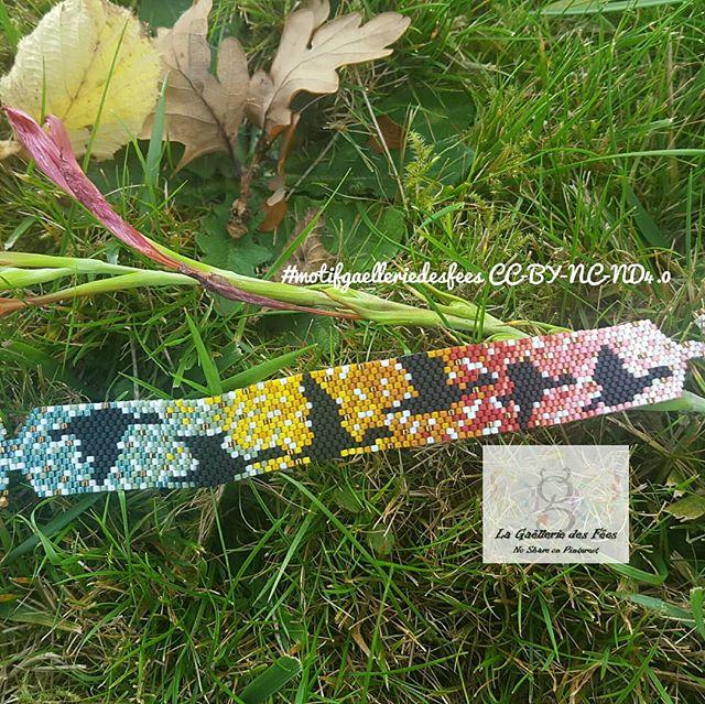 Bracelet Gaellerie des fées pour le Challenge Couleurs Miyuki d'Automne, DIY par Alice Gerfault
