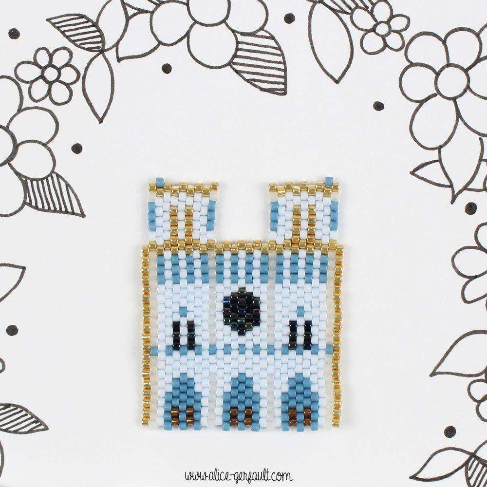 Diagramme Notre-Dame de Paris en perles Miyuky, DIY by Alice Gerfault