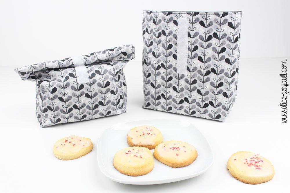 Sablés au citron et mini lunchbag, DIY par Alice Gerfault