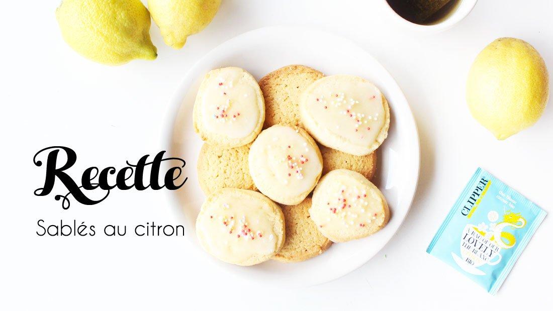 Recette Sablés au citron, DIY par Alice Gerfault