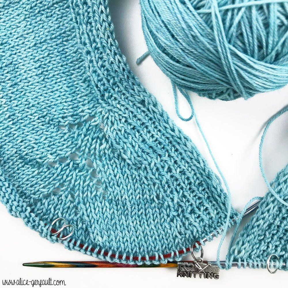 Gilet Falesia au tricot, Journal Créatif #4, DIY by Alice Gerfault
