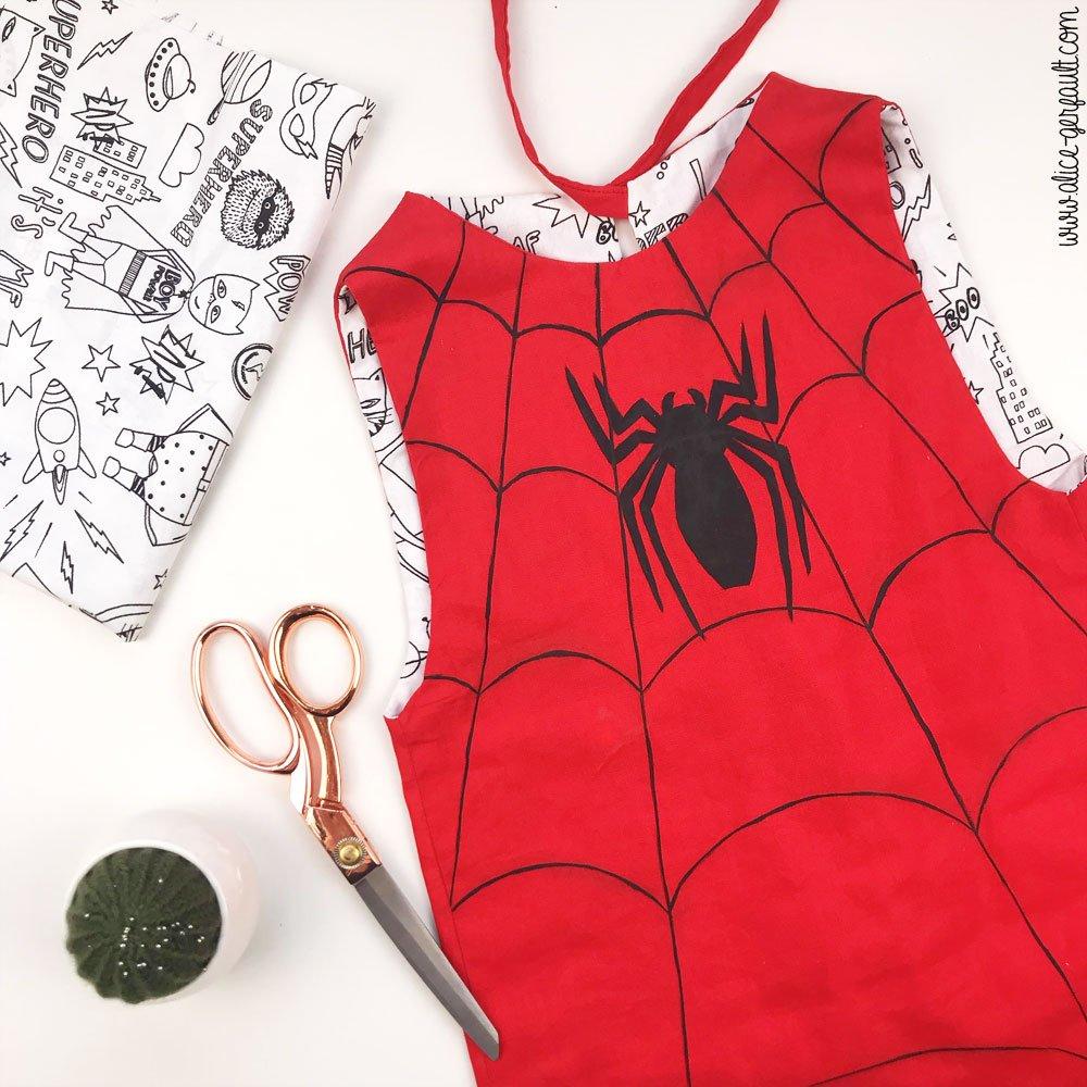 Déguisement Spiderman pour enfant, Journal Créatif Episode #5,DIY by Alice Gerfault