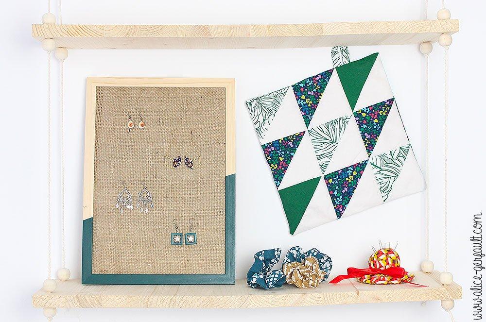 4 tutos avec des restes de tissus en cadeau de fête des mères, DIY par Alice Gerfault