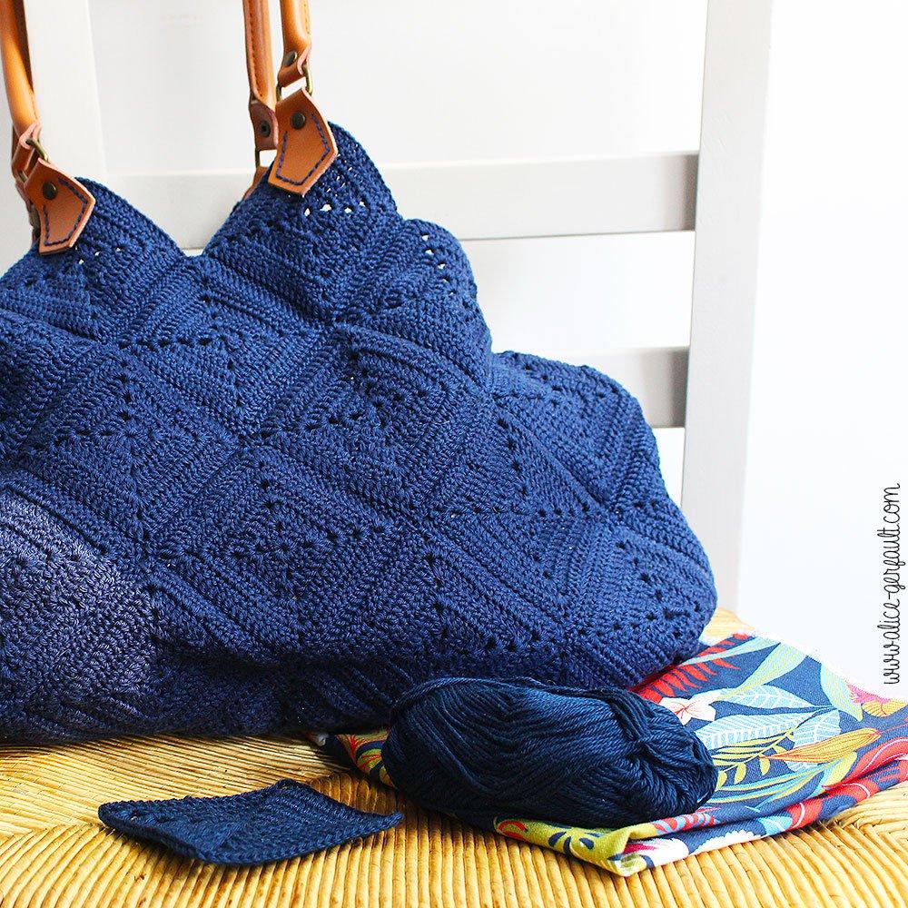 Journal Créatif Episode 10, Sac-à-main au crochet, DIY par Alice Gerfault