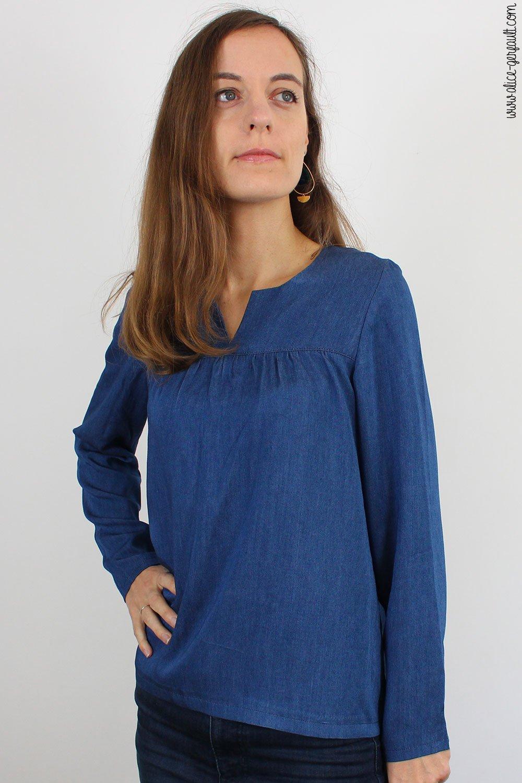 Journal Créatif Episode 16, blouse sur-mesure, Couture par Alice Gerfault