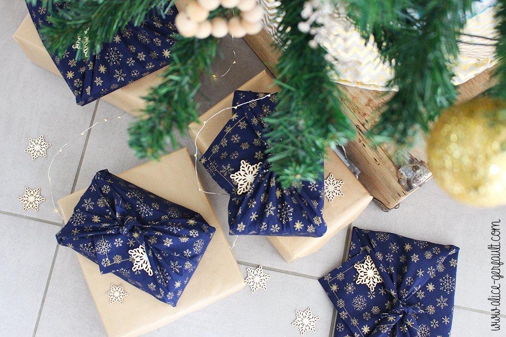 Furoshiki, Emballage cadeau zéro déchet, Couture par Alice Gerfault